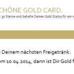 Starbucks Gold Level – so what?