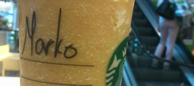 Starbucks Vorname Marko