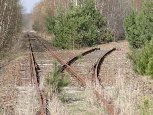 Bahngeleise