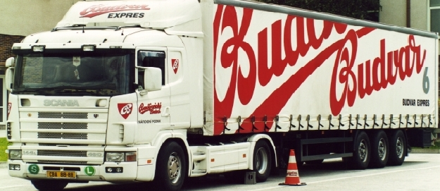 Budweiser LKW