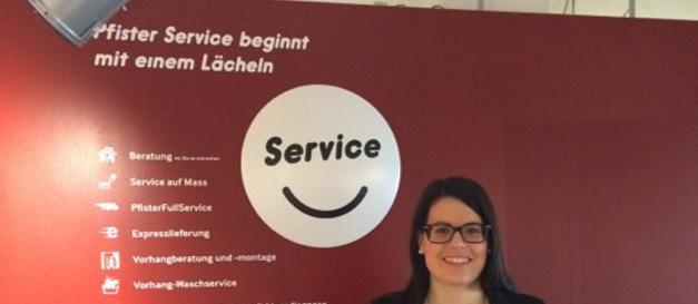 Pfister - Service beginnt mit einem Lächeln