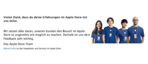 Apple - ein Lippenbekenntnis